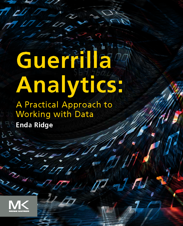 Guerrilla Analytics – the book! Book contract signed for Autumn 2014